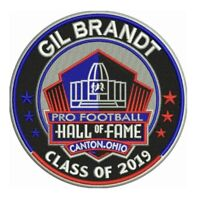 GIL BRANDT 2019 NFL HALL OF FAME PATCH HOF FOOTBALL RAMS 49ERS COWBOYS LIMITED