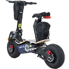 Mototec Mad Electric Scooter 1600w Motor 48v Battery BIG Knobby Tires Disk Brake