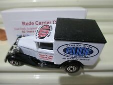 Matchbox 2003 MB38 RUDE CARRIER CORP OLD OVAL Rear Door LOGO New In C9 Mint Box