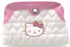HELLO KITTY CUSTODIA BORSETTA CASE WHITE PINK ROSA BIANCO BAG ASTUCCIO BOX