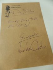 Vintage Linden Chiles Actor Autograph Handwritten Letter Personal Stationary
