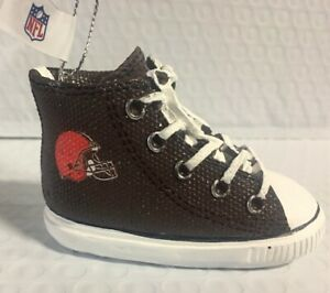Cleveland Browns Sneaker Ornament Christmas Tree Holiday - FREE SHIPPING