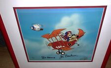 Hanna Barbera Signed Number 2 Cel Dastardly Muttely Wacky Races Stop The Pigeon