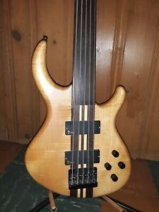 Tobias 5 String Fretless Bass, Lightly Used! 2001 Vintage