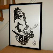 Eddie Van Halen, Guitar Player, Guitarist, Edward Van Halen, Music, 18x24 POSTER