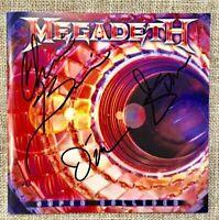 Megadeth - Super Collider + 3 Bonus (Deluxe Japan CD w/OBI) Signed by 3 members