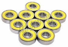 80 Sealed Skateboard/inline/Rollerblade Skate Bearing Ball Bearings 8341