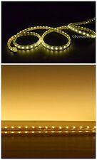 1200 LEDs Strip Rope Light 65 Feet Warm White Dimmable Flexible Flat Waterproof