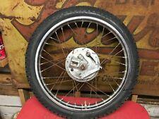 "Yamaha DT175 Front Wheel Brake Plate Hub   DT 175  CT1  Enduro  19"""
