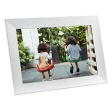 Aura - Carver Luxe 10.1'' LCD Wi-Fi Digital Photo Frame - Sea Salt new