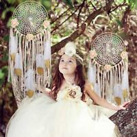 Handmade Dream Catcher With Feathers Car Wall Hanging Ornament Girls Room  Gift