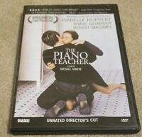The Piano Teacher DVD Unrated Director's Cut