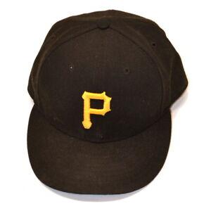 NEW ERA 59FIFTY Pittsburgh Pirates MLB Baseball Fitted Hat Size 7 1/4, USA Made