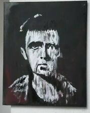 More details for peter gabriel..genesis  ,hand painted  .canvas.20 x 16 ins to hang ,