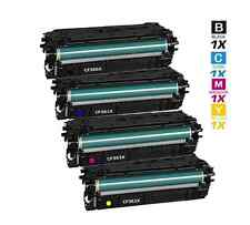 4 Pack 508X Toner Set New Compatible HP Cartridges CF360X for M552 M553