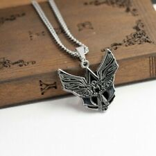 Necklace Assassins Creed Tribal Insignia Wings Logo Pendant Game Silver Chain