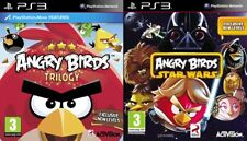 angry birds trilogy & angry birds star  wars   PS3   PAL