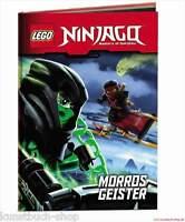 Fachbuch LEGO® Ninjago™ Morros Geister, mit spannenden Informationen, NEU