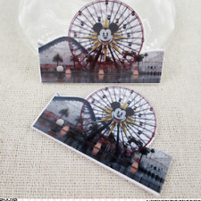 Mickey Mouse Planar Resin flatback 50mm x 33mm  (pack of 5) Disney Land