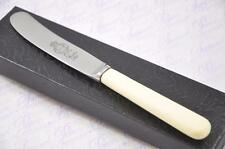 Genuine Cream/white Handle Butter Knife Made In Sheffield England