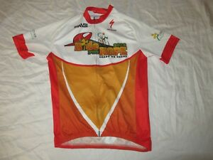 Specialized Ride for Hope Cycling  MTB Jersey Sponsor Logos Mens Large GUC