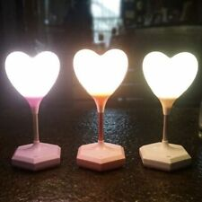 Led Romantic Heart Balloon Table Lamp Night Light Touch Switch Valentines Gifts