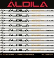 8 Cobra Aldila DVS2 SENIOR 60 LITE .355 Graphite Iron 5-PW+AW+SW SHAFT SET