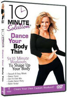 10 Minute Solution: Dance Your Body Thin DVD (2009) Andrea Leigh Rogers cert E
