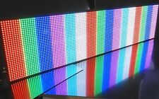 128x32 pixel 12k+ LED Sign Display programmabile messaggio di scorrimento completa 40 COLORI