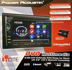 "NEW Power Acoustik PH-620SXMB(NT) DVD/CD Car Stereo Receiver w/ 6.2"" LCD Screen"