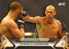 DONALD COWBOY CERRONE SIGNED AUTO'D 10X14 TOPPS WALL ART CARD BAS COA #1/99 UFC