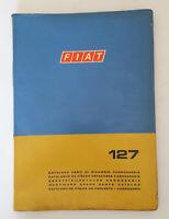 Fiat 127 Catalogo Parti di ricambio Carrozzeria Auto Epoca