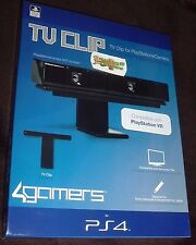 Officially SONY Licensed Camera TV Clip Mount for Playstation 4 PS4 4G-4382 PSVR