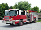 Pierce Fire Truck, Custom Cab, GOOD CITY PUMPER only 1865 engine hours, Quantum