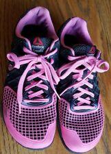 Reebok Crossfit Nano CF74 Training Shoes Women's Size 9.5 Pink Black Workout
