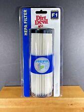NEW Genuine Dirt Devil F1 HEPA  Filters 3JC0280000 Bagless Uprights
