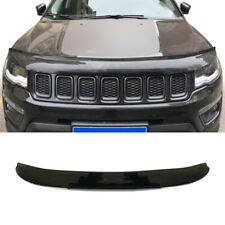 Brown  Hood Bonnet Guard Garnish Deflector Trim For 2017-2018 Jeep Compass