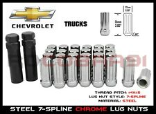Buyer Needs to Review The spec 20pcs 2.32 Chrome 14mm X 1.50 Wheel Lug Nuts fit 1998 GMC K3500 May Fit OEM Rims
