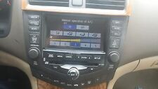 2003- HONDA Accord Navigation GPS Radio 6 CD Changer   warranty
