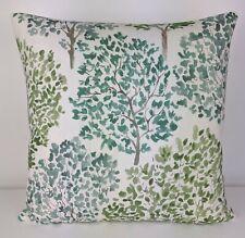 John Lewis Leckford  Trees Fabric cushion Cover Handmade Green