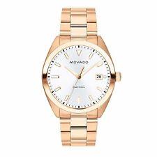 Movado 3650058 Men's Heritage Silver Quartz Watch