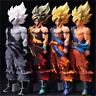 Anime Dragon Ball Z Super Saiyan Goku PVC Action Figure Figurine Toy Gift 33CM