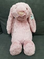 Jellycat Bashful Bunny 51cm HUGE Tulip Pink