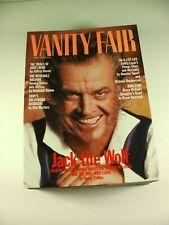 Vanity Fair Magazine -Lot of 9 - (1990-94) Jack Nicholson, Richard Gere & more