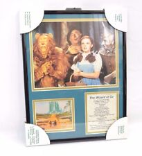 """RARE! The Wizard of Oz """"YELLOW BRICK ROAD""""  Movie Matted Framed Picture Plaque"""