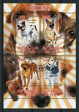 Chad 2013 CTO Dogs German Shepherd Great Dane 4v M/S Chiens Dog Stamps