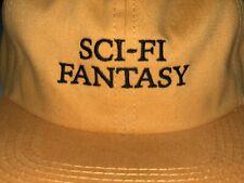 Sci-Fi Fantasy Hat Snapback 2 monotone Yellow Jerry Hsu Adjustable