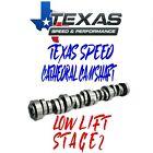 Texas Speed Gm Truck Stage 2 Tsp Cam Low Lift Camshaft Vortec Ls 4.8 5.3 6.0 6.2