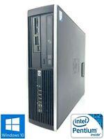 HP 6000 Pro SFF - 250GB HDD, Intel Pentium E5300, 4GB RAM - Win 10 Pro