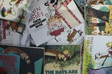 Lot of 5 Calvin & Hobbes by Bill Watterson Paperback Books MIX